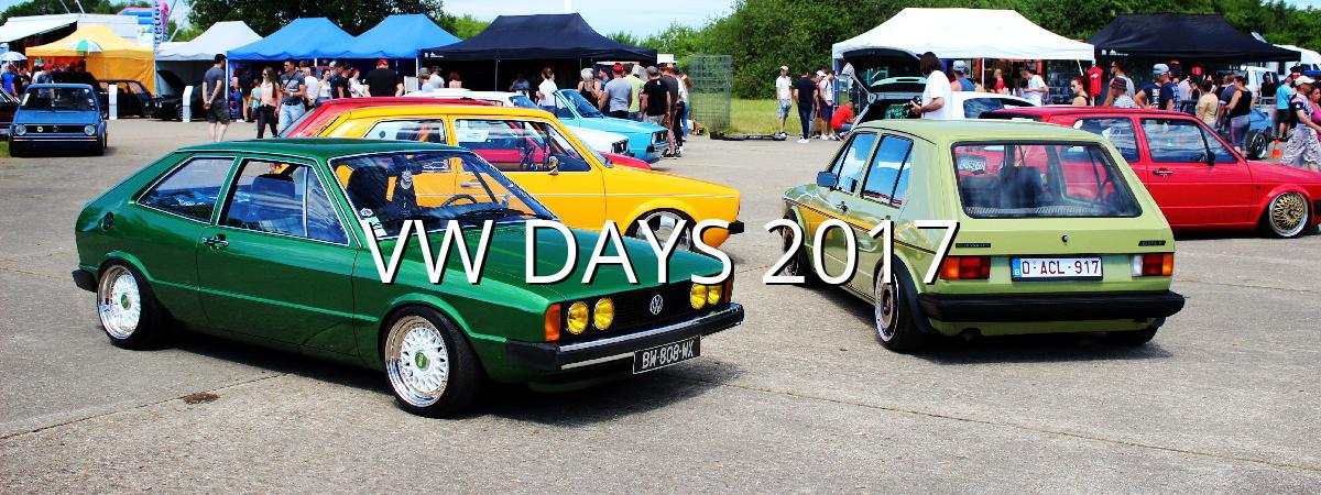 VW Days 2017