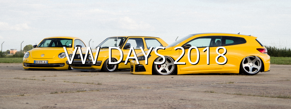 VW Days 2018